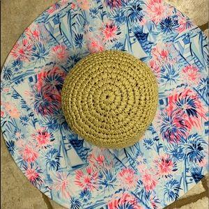 NEW Lilly Pulitzer Wide Brim Sun Hat